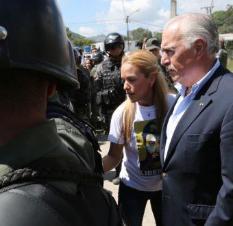 [FOTOS] Revisa las imágenes de la controvertida visita del ex Pdte. Piñera a Venezuela