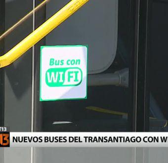 Transantiago estrena buses con Wi-Fi