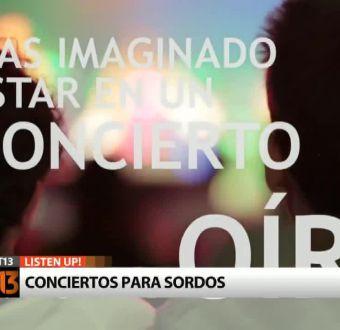 Listen Up!, el primer concierto para sordos del país