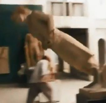 [VIDEO] Estado Islámico destruyó esculturas del siglo IX AC en Irak