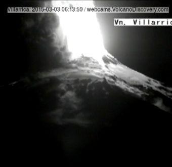 [VIDEO] La erupción del volcán Villarrica en timelapse