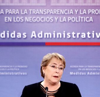 Michelle Bachelet transparencia