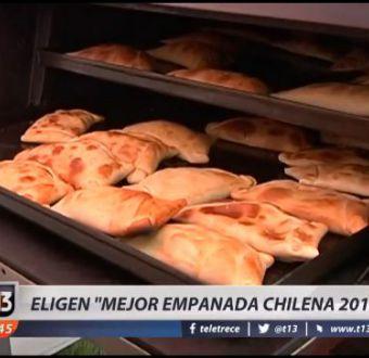 [VIDEO] Eligen la Mejor Empanada Chilena 2016