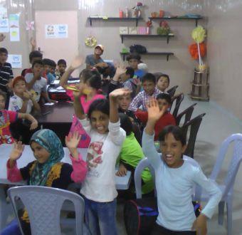 La amistad de los niños chilenos y sirios