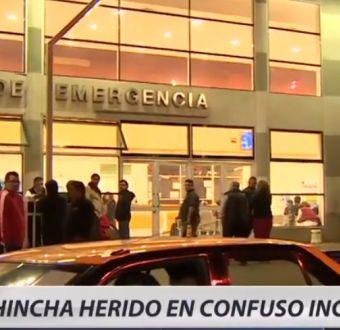 Hincha colocolino resulta herido de bala en confuso incidente en San Joaquín