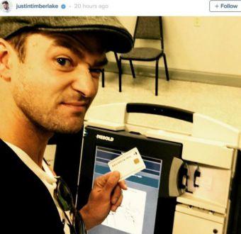 El selfie que metió en un lío a Justin Timberlake