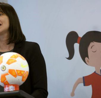 Natalia Riffo en Deportes: partida falsa