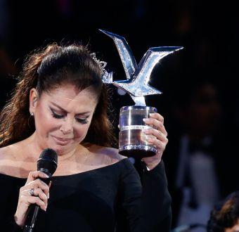 Isabel Pantoja en el Festival de Viña 2017