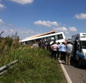 Doce muertos y 28 heridos deja choque de buses en Argentina