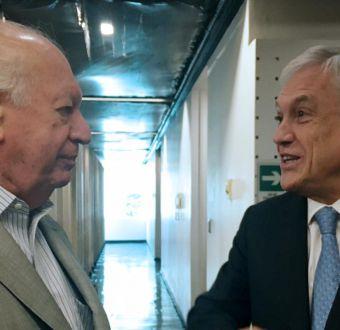 Piñera reconoce aporte de Ricardo Lagos luego de la bajada de su candidatura