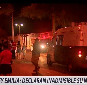[VIDEO] Ley Emilia: Declaran inadmisible su norma