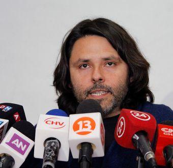 Alberto Mayol en rueda de prensa