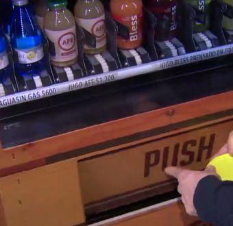 Las máquinas expendedoras en Chile