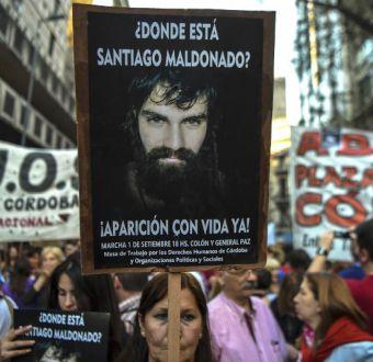 Caso Santiago Maldonado: encuentran cuerpo en río Chubut