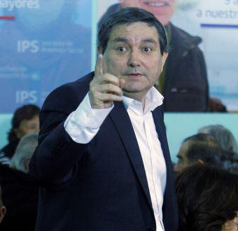 Miguel Ángel Aguilera, alcalde de San Ramón.
