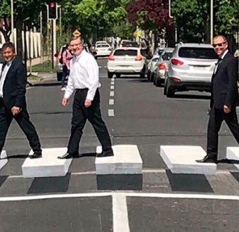 Paso peatonal 3D