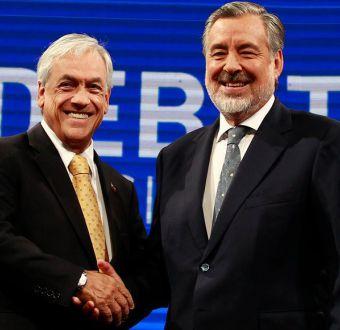 Minuto a minuto: Así fue el tenso último frente a frente de Piñera y Guillier previo al balotaje
