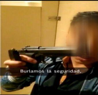 [VIDEO] Probó seguridad de un casino con un arma