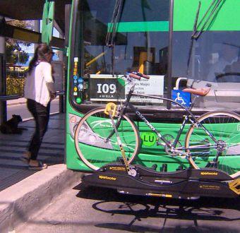 [VIDEO] Transantiago porta bicicletas