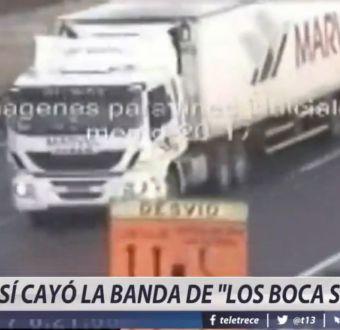 [VIDEO] Así cayó la banda de los Boca Seca