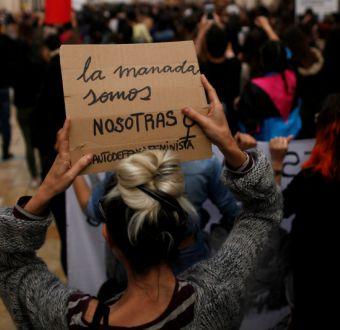 [VIDEO] Miembros de La Manada condenados por abuso sexual a joven en España quedan en libertad