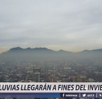 [VIDEO] Se pronostican lluvias en la zona central recién para fines del invierno