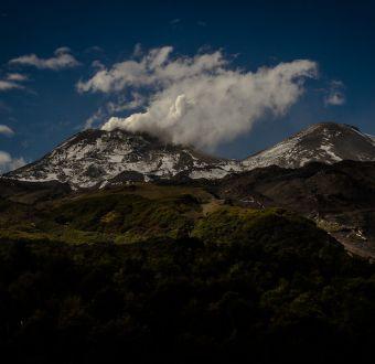Se registra segundo sismo asociado a explosión en complejo Volcánico Nevados de Chillán