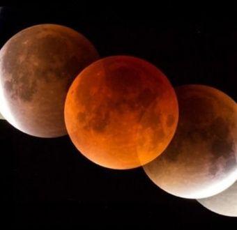 Qué es el eclipse total de la Superluna de sangre de lobo de este fin de semana y dónde verlo