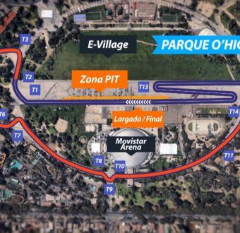 [VIDEO] Fórmula E: Así es el circuito del Parque O'Higgins