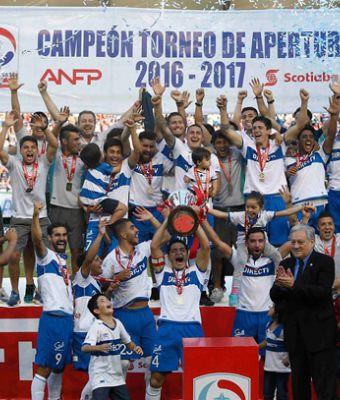 Universidad Católica vence a Temuco y se corona bicampeón del fútbol chileno