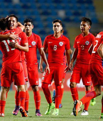 [FOTOS] Todas las postales del duelo de Chile ante Bolivia en el Sudamericano Sub 17
