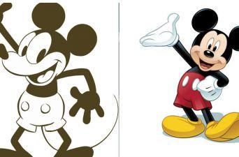 Así ha evolucionado Mickey Mouse en sus 89 años de vida
