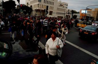 [FOTOS] En Valparaíso hubo alerta de evacuación después del sismo