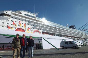 [FOTOS] Norwegian Sun: el primer crucero en atracar en el puerto de San Antonio