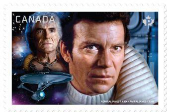 [FOTOS] Canadá imprime más estampillas de Viaje a las Estrellas