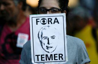 [FOTOS] Crecen las protestas contra Temer en Brasil
