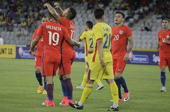 [FOTOS] Las mejores postales del duelo de Chile ante Rumania en Cluj