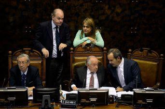 [FOTOS] Así se vivió el extenso debate donde el Senado aprobó la despenalización del aborto