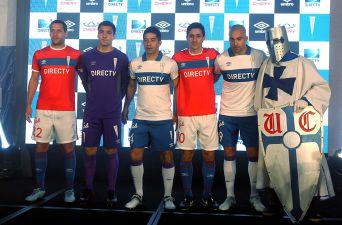 [FOTOS] La UC presenta nueva camiseta que estrenará en Supercopa ante Colo Colo