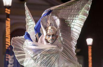 La versión 21 del Carnaval de Invierno de Punta Arenas estuvo llena de color y bailes.