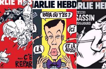 [FOTO] Las irreverentes caricaturas que han aproblemado a la revista Charlie Hebdo