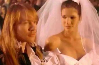 [FOTOS] Así está a sus 49 años, la novia de Axl Rose en November Rain de Guns N Roses
