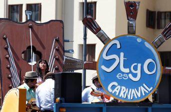 [FOTOS] Así se vivió la segunda versión de Santiago es Carnaval