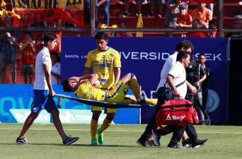 [FOTOS] Impactante lesión de Sebastián Leyton en el duelo clave ante Unión Española