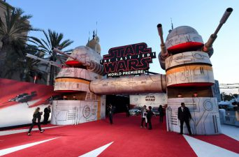 """En Los Angeles fue la alfombra roja de """"Star Wars: Los Últimos Jedi"""""""