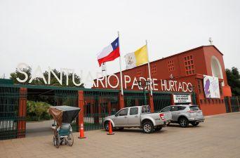 [FOTOS] Santuario Padre Hurtado se prepara para la visita del Papa