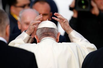 [FOTOS] Las primeras imágenes del Papa Francisco en Chile
