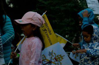 [FOTOS] Fieles esperan al Papa Francisco en Parque OHiggins para misa masiva