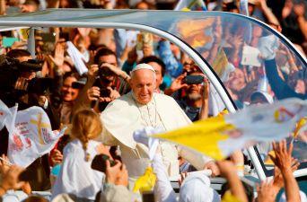 Papa Francisco en el Parque O'Higgins