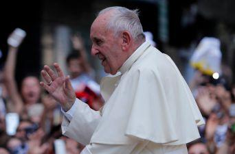 [FOTOS] Así fue la llegada del Papa a la Catedral Metropolitana